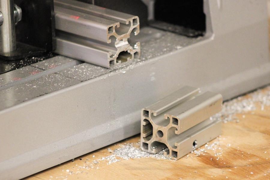 Hochwertiges Aluminium für die Stabilität