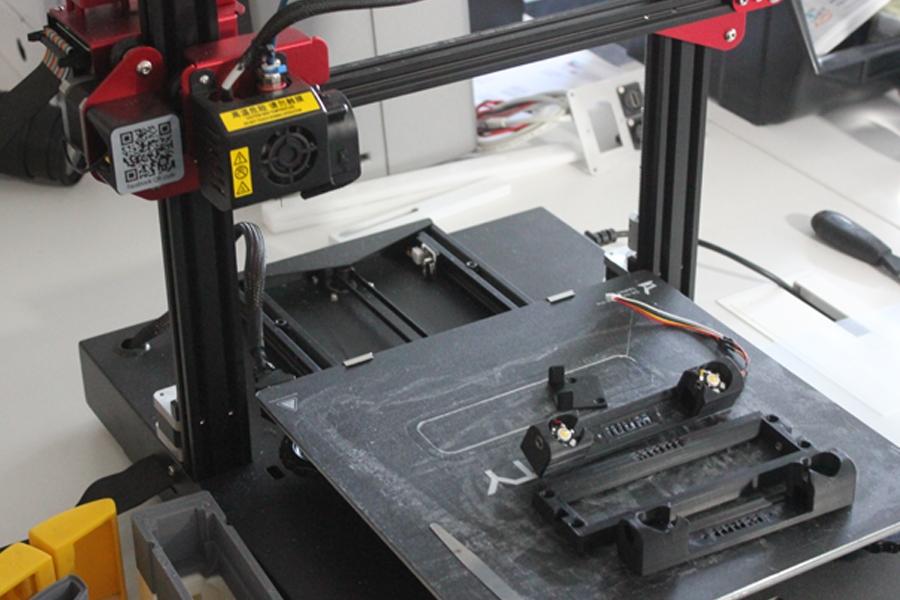 3D Drucker für verbaute Komponenten